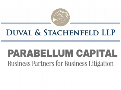 Duval & Stachenfeld LLP Announces Collaboration with Parabellum Capital, Which is a Leader in Real Estate Litigation Finance