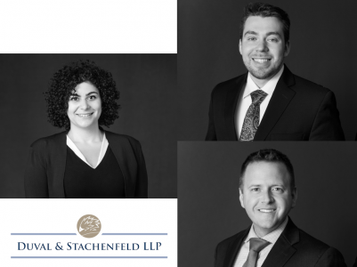 Duval & Stachenfeld LLP Announces Election of Three New Partners