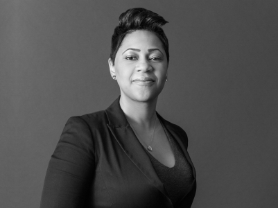 Stacie Trott honored by Fordham University School of Law's Black Law Students Association