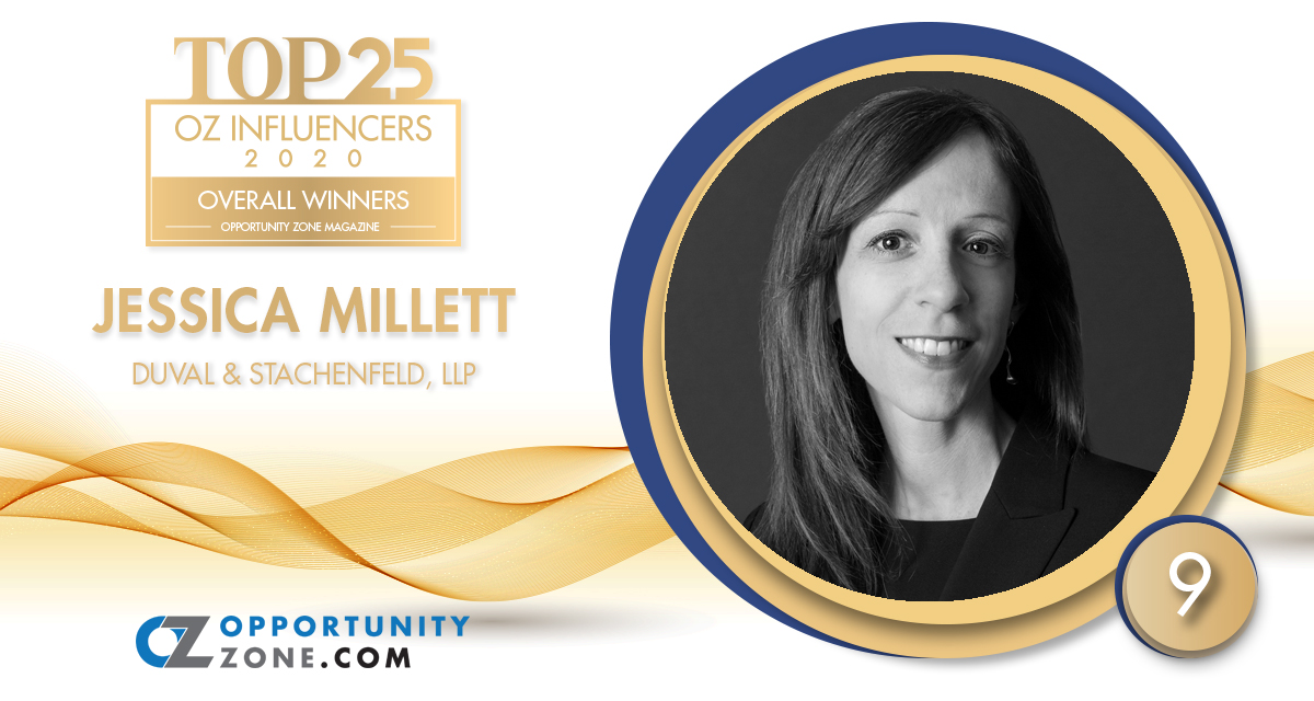 "Tax Chair, Jessica Millett, Named To ""Top 25 Overall OZ Influencers"""